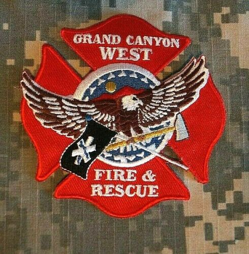 RARE Grand Canyon West Fire and Rescue Patch