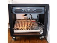 Amplifier and Multi track mixer