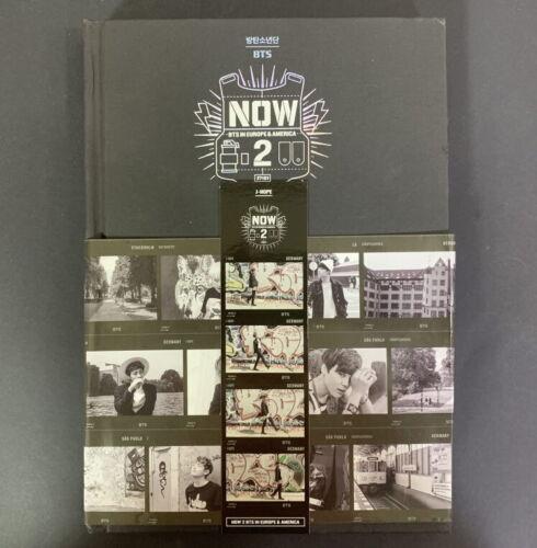BTS-NOW 2 Photobook DVD+Bookmark+Photo Frame Stand Full Set JHOPE BOOKMARK