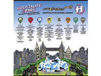 Hospitality in the park 6 x tickets available £20 each