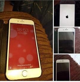 iPhone 6 16gb white sliver