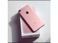 Apple iPhone 7 UNLOCKED 128 with warranty