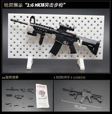 Details about 1/6 1:6 PUBG BattleField4 MP7 UZI MP40 HK53 KRISS MK18 MP5  rifle GUN 8PCS STAND