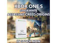 Xbox One S • Brand New Sealed • Assassins Creed Origins • 500GB
