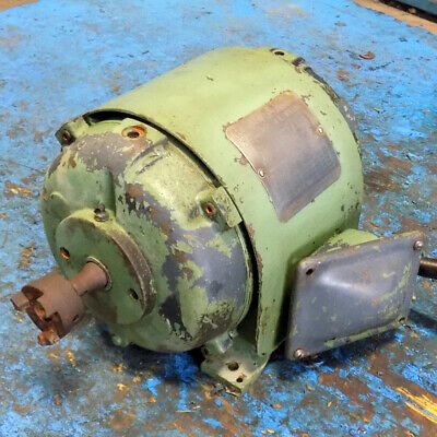 Reliance Electric Cb204 Frame 220-440v 1145rpm 1hp Motor 20a91