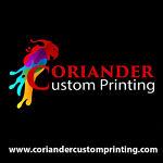Coriander Custom Printing