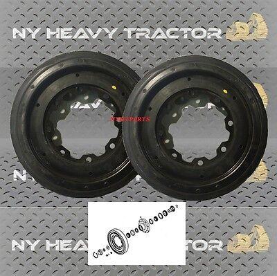 2781301 278-1301 Idler Wheel X2 Front Caterpillar Cat 247b2 247b3 257b2 257b3