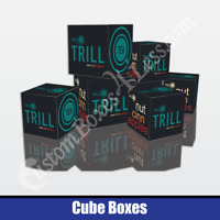 Cube Boxes   Custom Printed Cube Boxes