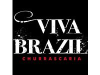 Part-time Waiter/waitress required at Viva Brazil Restaurant