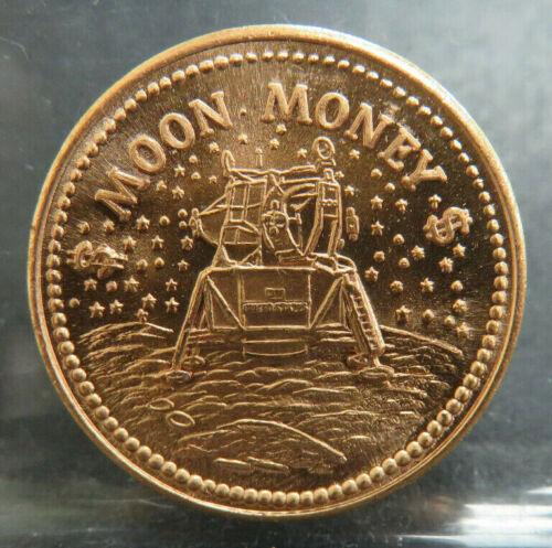 Moon Money Green Cheese Penny Token Bu