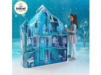 Frozen snow flake mansion, boxed in excellent condition, never used.