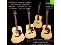 Group Guitar Lessons - only £4/session! Thursdays in term time - Limelight Studios Norwich