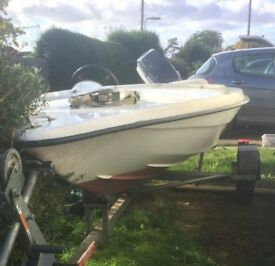 Speedboat and outboard project