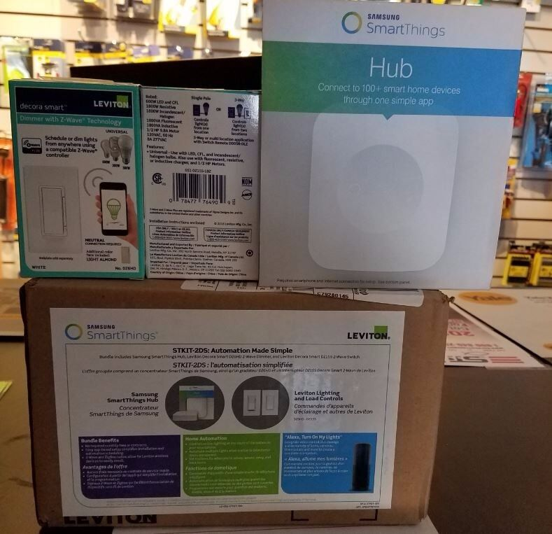 Leviton STKIT-2DS Home Automation Bundle