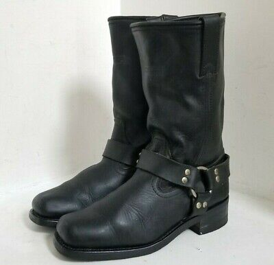 X ELEMENT (LU2442) Womens Harness Work Motorcycle Boots Size 9.5 - FREE SHIPPING