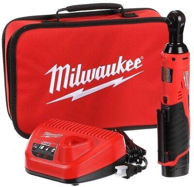Milwaukee 2457-21 3/8-in Cordless M12 Lithium-Ion Ratchet Ki