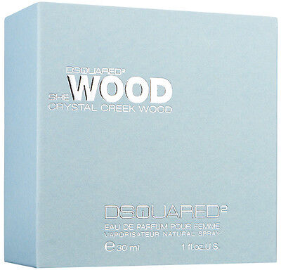 DSQUARED2 SHE WOOD CRYSTAL CREEK WOOD EDP POUR  FEMME