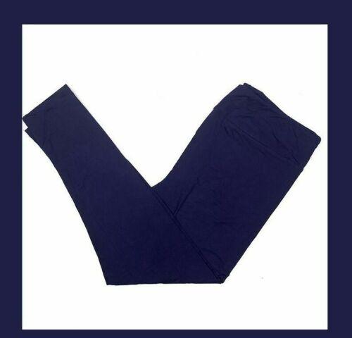 L/XL Lularoe Kids Leggings Solid Dark Indigo Blue NWT 49784