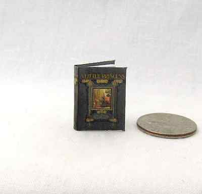 (A LITTLE PRINCESS Miniature Book Dollhouse Illustrated Readable 1:12 Scale Book)
