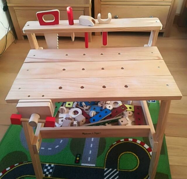 Astounding Melissa Doug Wooden Project Work Bench In Send Surrey Gumtree Squirreltailoven Fun Painted Chair Ideas Images Squirreltailovenorg