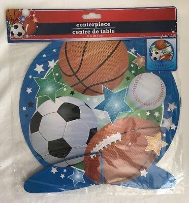 Sports Theme Decor (LOT OF 3 10