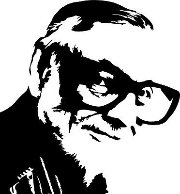 George Romero vinyl decal sticker Zombie Horror Creepshow Halloween