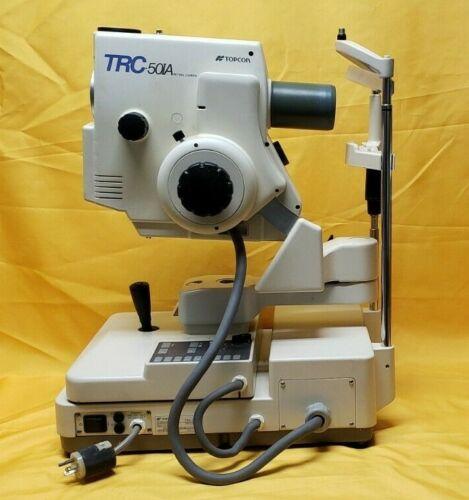Topcon TRC-50IA Retinal Camera System Optometry Camera System