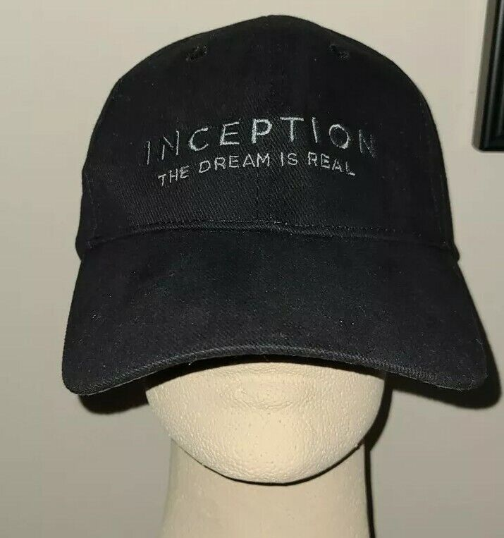 Rare INCEPTION Movie Promo Baseball Hat Cap New Adjustable Vintage L. DiCaprio