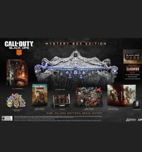 Call of duty black ops 4 myestery box edition PS4
