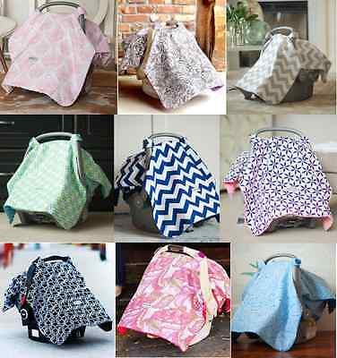 Car Seat Canopy Newborn Baby Cover Keeps Infant Warm in Winter Cool in Summer