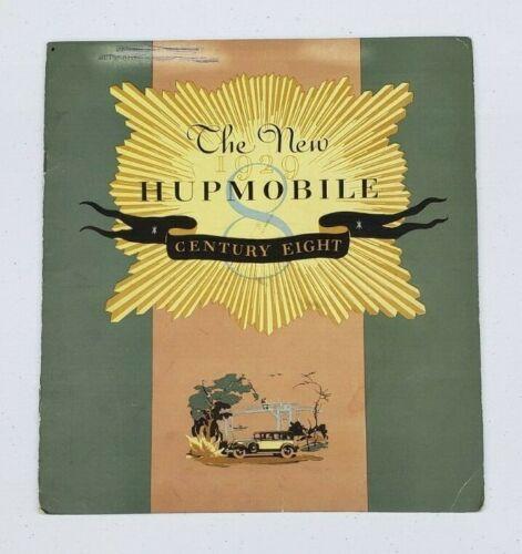 1929 Hupmobile Sales Catalog, Century Eight