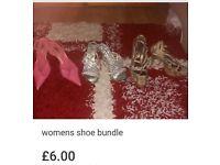 Womens shoes bundle