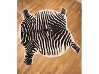 Abigail Ahern style Zebra print rug