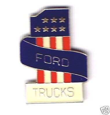 Automotive collectibles - Ford Trucks (are #1) tac style logo pin