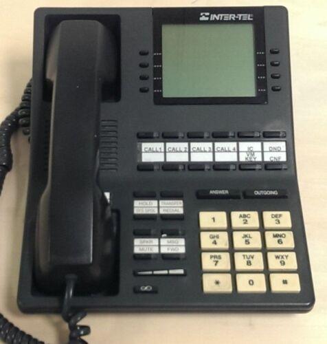 Lot of 7- Inter-tel 550.4500 Axess Executive Digital Display Phones