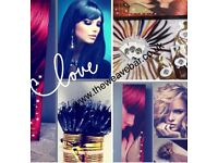 THE WEAVE BAR FOR HAIR EXTENSIONS & BEAUTY SUPPLIER- CLIP INS, TAPE HAIR, NANO TIPS, I & U- TIPS
