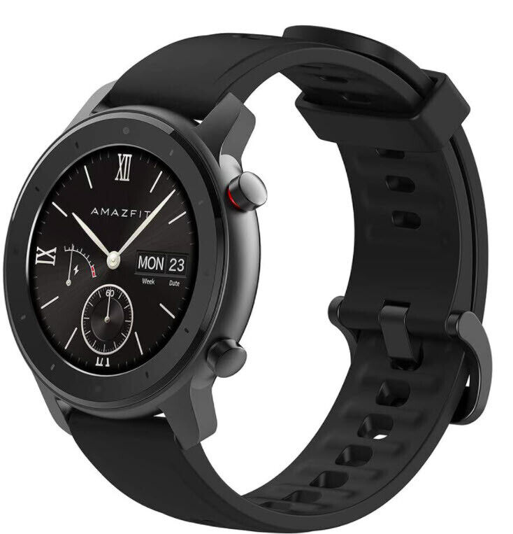 amazfit gtr lite 47mm smartwatch gps ceramic