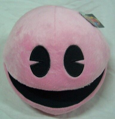 SOFT ATARI PAC-MAN PINK PACMAN BATTLE ROYALE Plush STUFFED ANIMAL Toy NEW w/ TAG