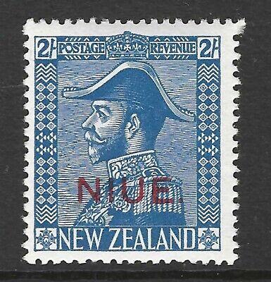NIUE :1928 'Admiral' 2/- light blue SG49 MNH