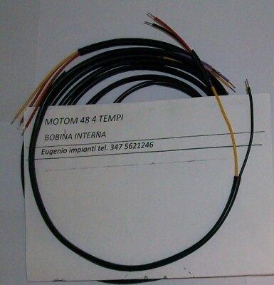 Sistema Eléctrico Eléctrica Alambrado Moto Motom 48 Bobina Interna 4T Esquema El