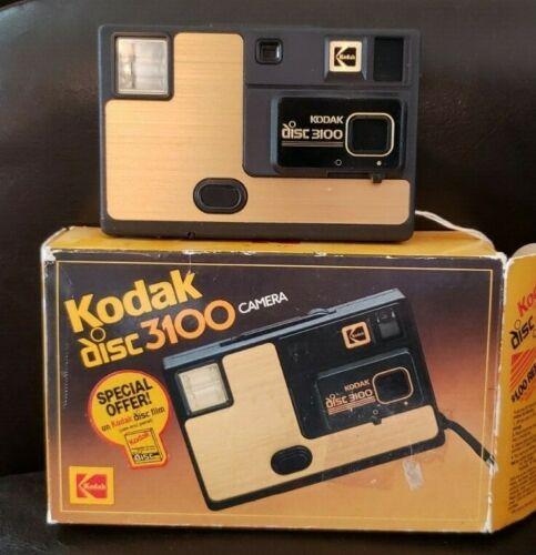 Vintage Kodak Disc 3100 Camera - NEW In Box!  NIB (see description)