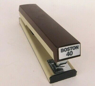 Vintage Boston 40 Stapler Two Tone By Hunt Manufacturing Co. Nc
