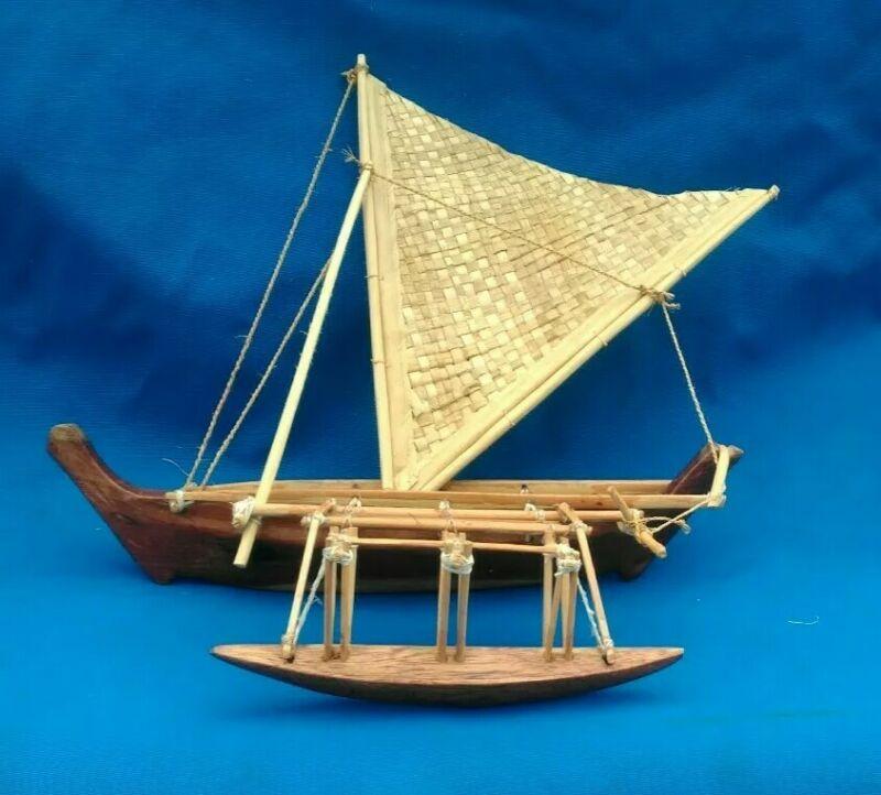 Rangiroa Outrigger Canoe Model