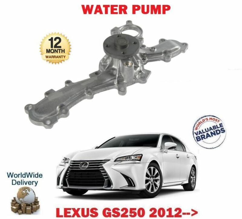 FOR LEXUS GS250 2.5 4GR-FSE 2012-> NEW WATER PUMP
