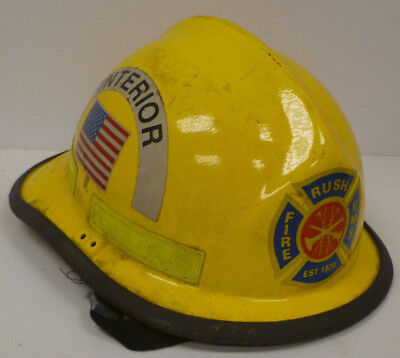 Firefighter Bunker Turn Out Fire Gear Cairns N660c 660c Yellow Helmet H181