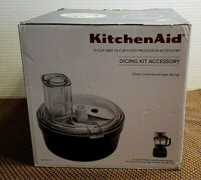 NEW KitchenAid Dicing Kit Accessory KFP13DC12  KFP1330, 1333,1344,1433,1466