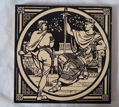 MOYR SMITH MINTON VICTORIAN SWORDS AND MEDIEVAL NOBLEMEN HAROLD TILE