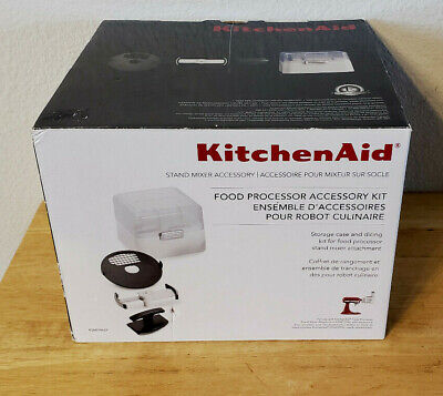 New KitchenAid KSMFPAEP Food Processor Accessory Kit Commercial Style Dicing Kit