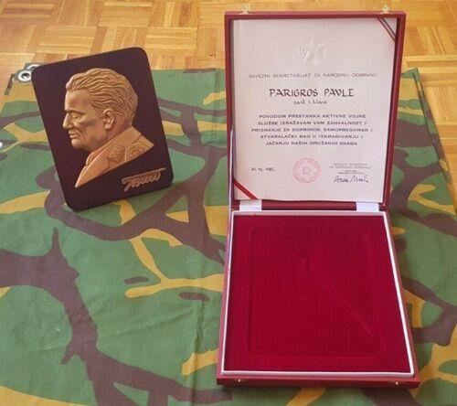 Yugoslavia Marshal statue bust JNA ARMY JOSIP BROZ TITO communist leader BIG BOX