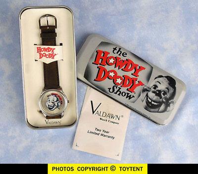 Howdy Doody Time wrist watch in presentation tin Valdawn